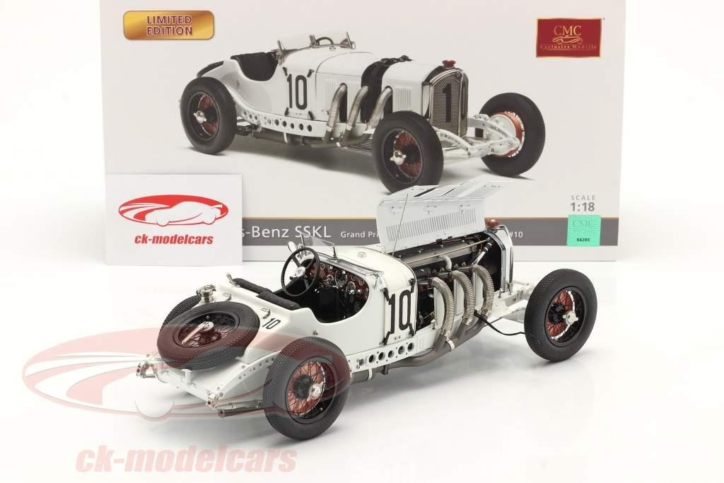Mercedes-Benz SSKL #10 6e Duitsland GP 1931 Hans Stuck 1:18 CMC