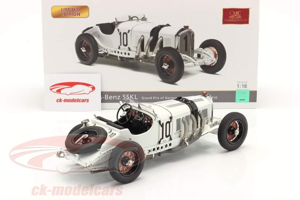 Mercedes-Benz SSKL #10 Sexto Alemania GP 1931 Hans Stuck 1:18 CMC