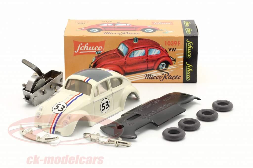 Micro Racer Volkswagen VW Escarabajo #53 Equipo 1:45 Schuco
