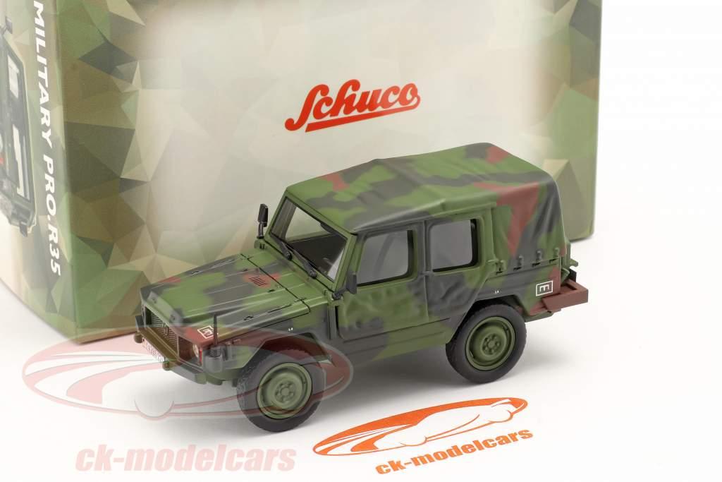 Volkswagen VW Iltis LKW 0,5t leicht Militärfahrzeug tarnfarben 1:35 Schuco