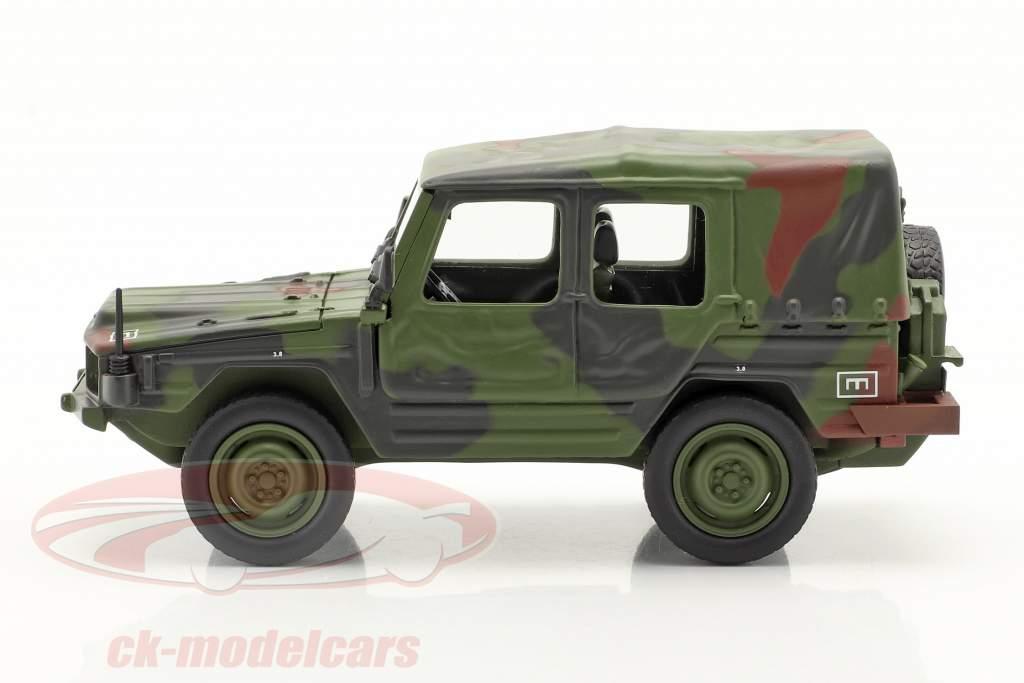 Volkswagen VW Iltis LKW 0,5t fácil Vehículo militar camuflaje 1:35 Schuco