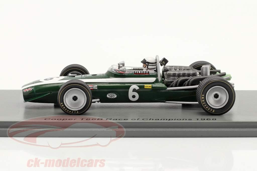 Brian Redman Cooper T86B #6 5e Race of Champions Brands Hatch 1968 1:43 Spark
