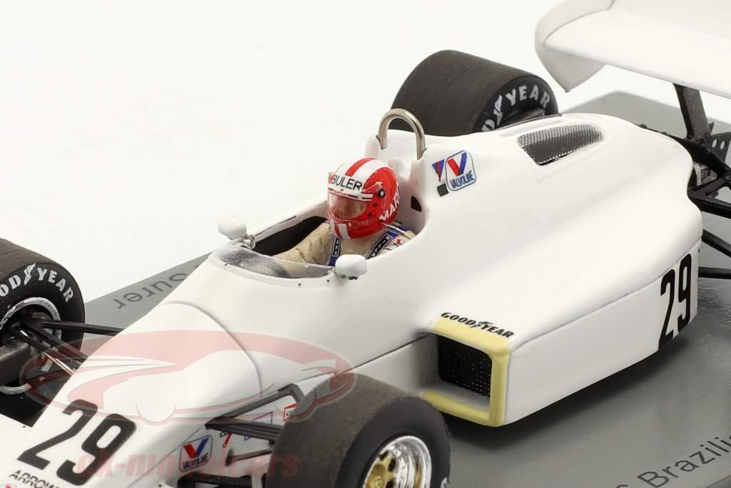 Marc Surer Arrows A6 #29 6° brasiliano GP formula 1 1983 1:43 Spark