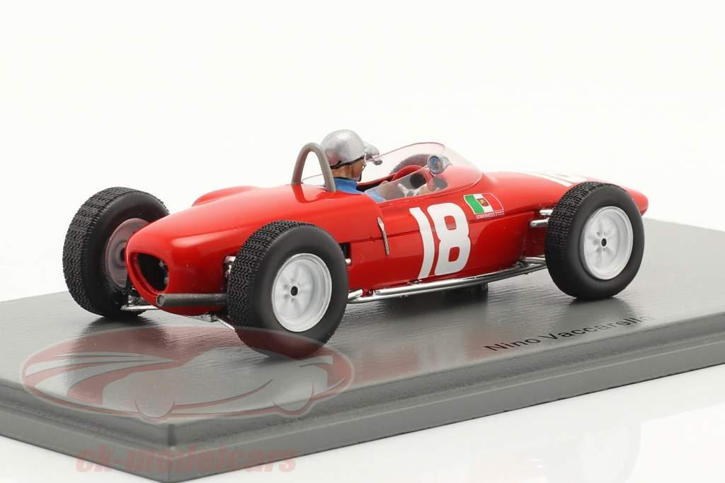 Nino Vaccarella Lotus 18-21 #18 6e GP de Pau 1962 1:43 Spark
