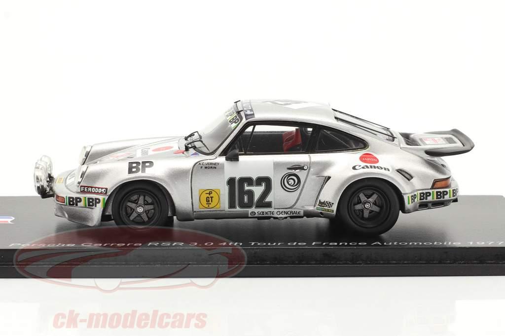 Porsche 911 Carrera RSR #162 4e Rallye Tour de France Automobile 1977 1:43 Spark