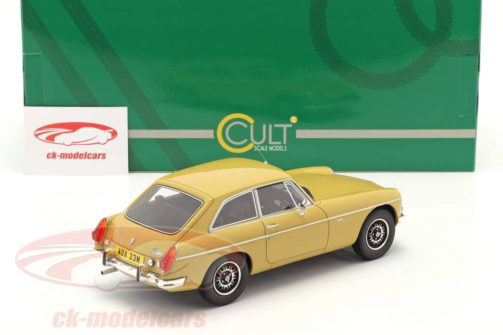 MGB GT V8 Ano de construção 1974 harvest ouro 1:18 Cult Scale