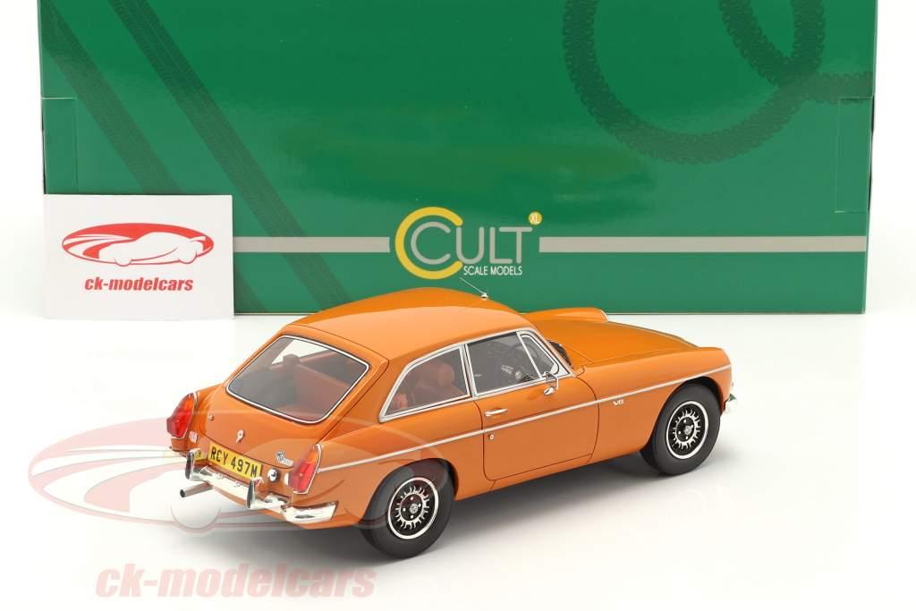 MGB GT V8 Baujahr 1974 orange 1:18 Cult Scale