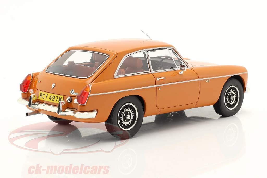 MGB GT V8 Anno di costruzione 1974 arancia 1:18 Cult Scale