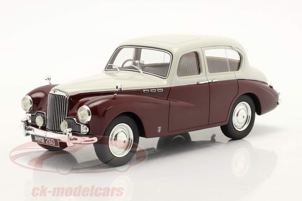 Sunbeam Talbot 90 MK III Année de construction 1954 gris / marron 1:18 Cult Scale