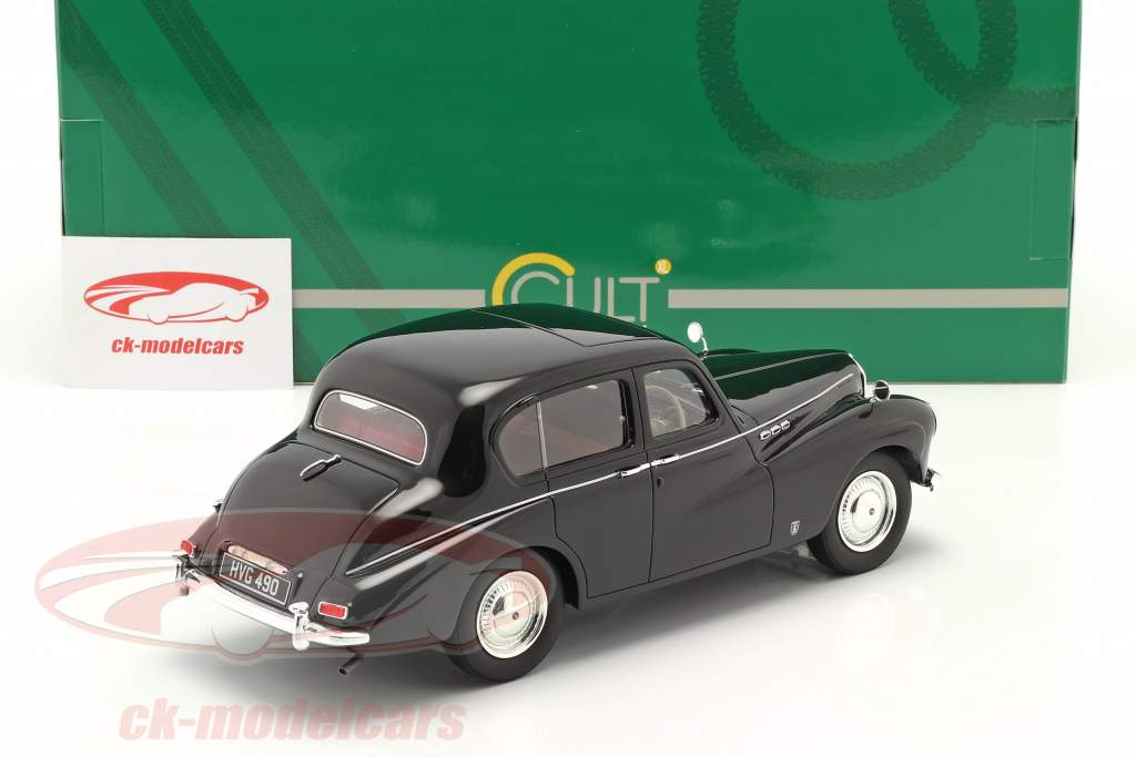 Sunbeam Talbot 90 MK III bouwjaar 1954 zwart 1:18 Cult Scale