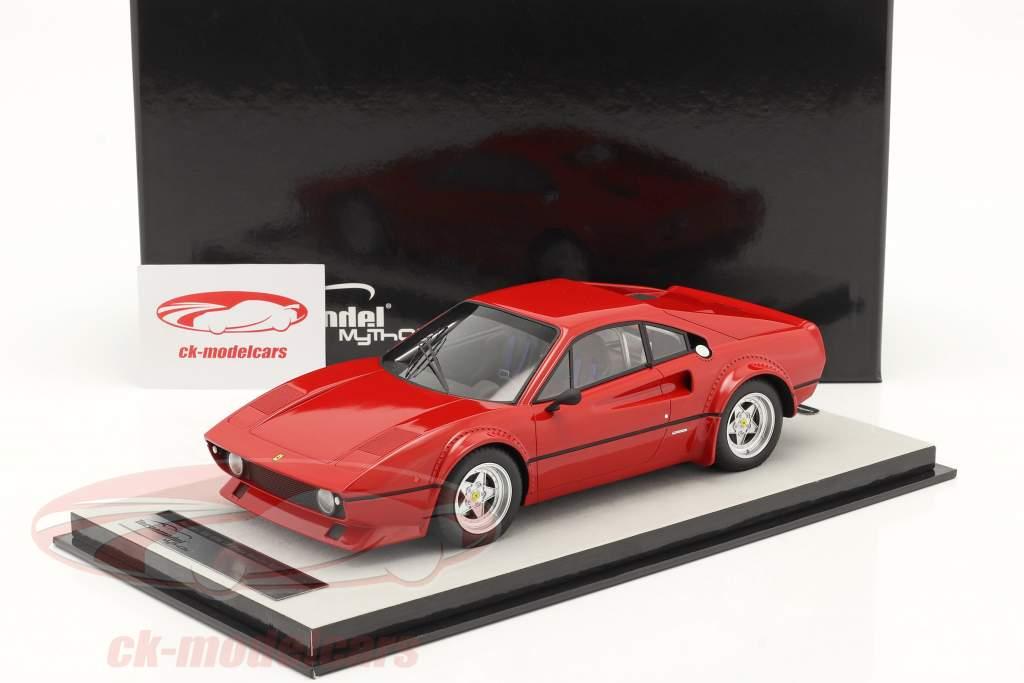 Ferrari 308 GTB/4 LM Presse Version 1976 corsa rot 1:18 Tecnomodel