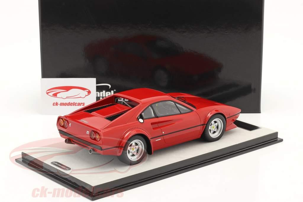 Ferrari 308 GTB/4 LM Trykke version 1976 corsa Rød 1:18 Tecnomodel