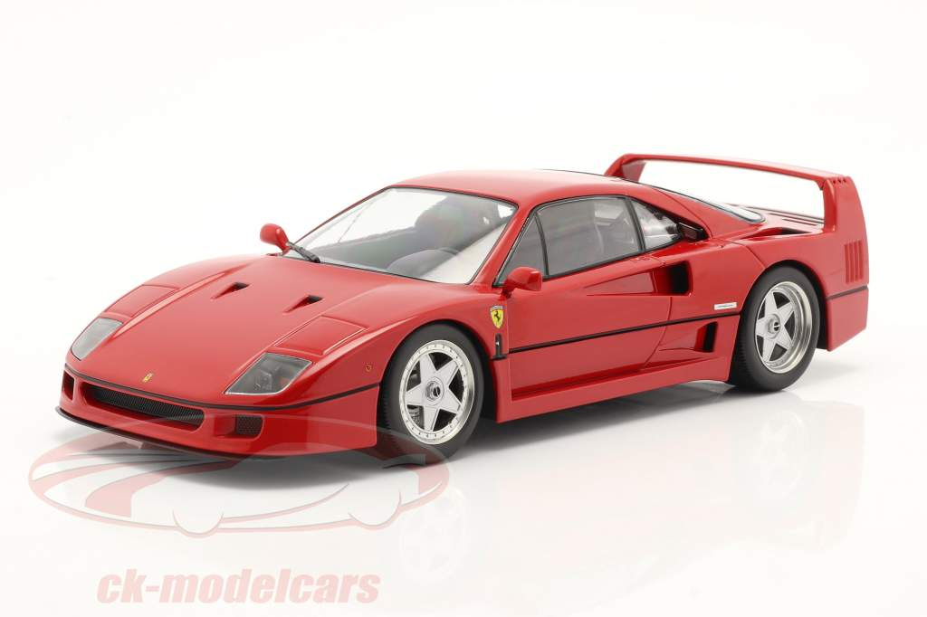Ferrari F40 Ano de construção 1987 vermelho 1:18 KK-Scale