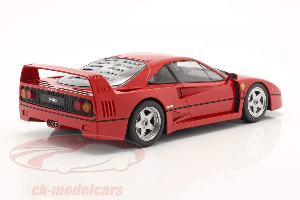 Ferrari F40 year 1987 red 1:18 KK-Scale