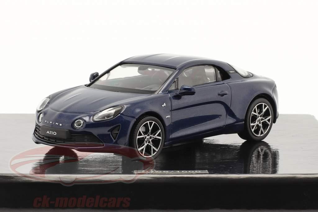 Alpine Renault A110 Pure Byggeår 2018 mørkeblå 1:43 Norev
