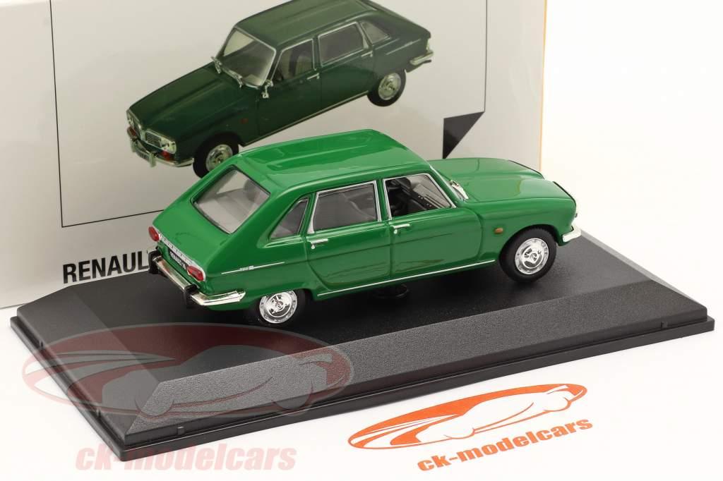 Renault 16 (R16) Byggeår 1965-1970 grøn 1:43 Norev