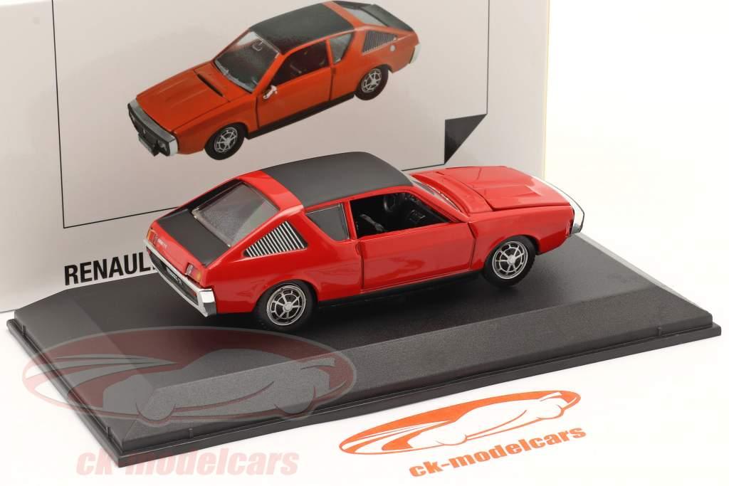 Renault 17 (R17) year 1971-1979 red / black 1:43 Norev