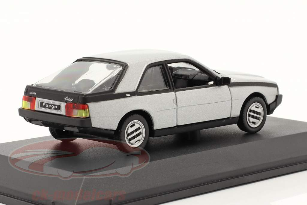 Renault Fuego year 1980-1986 silver 1:43 Norev