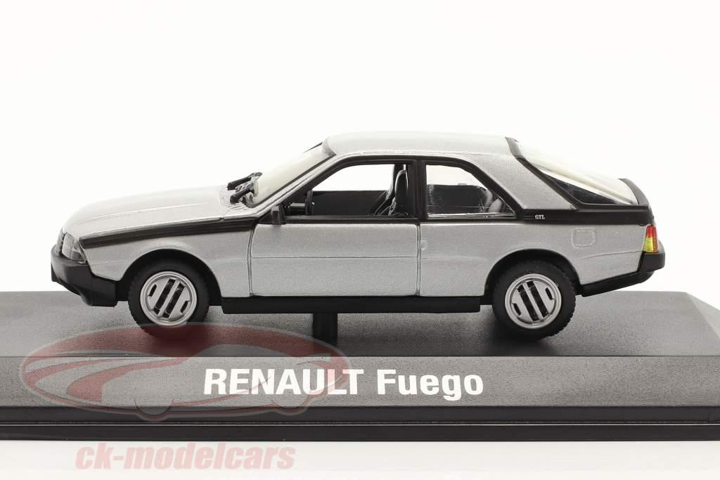 Renault Fuego Baujahr 1980-1986 silber 1:43 Norev