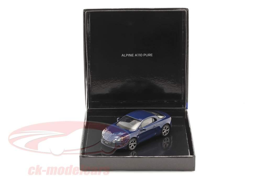 Alpine Renault A110 Pure year 2018 dark blue 1:43 Norev