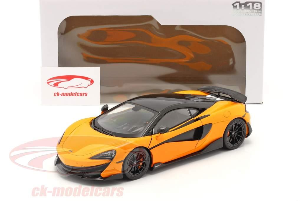 McLaren 600LT Coupe Année de construction 2018 Orange 1:18 Solido