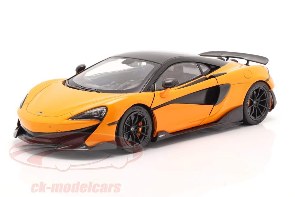 McLaren 600LT Coupe Год постройки 2018 апельсин 1:18 Solido
