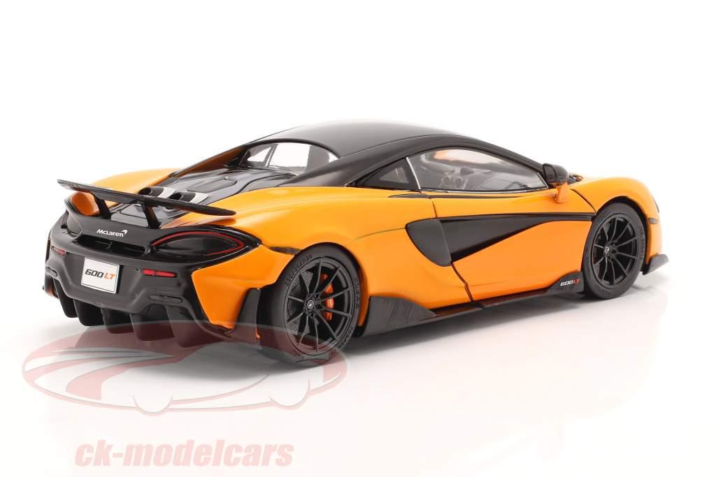 McLaren 600LT Coupe Byggeår 2018 orange 1:18 Solido