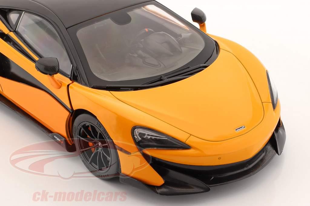 McLaren 600LT Coupe Año de construcción 2018 naranja 1:18 Solido