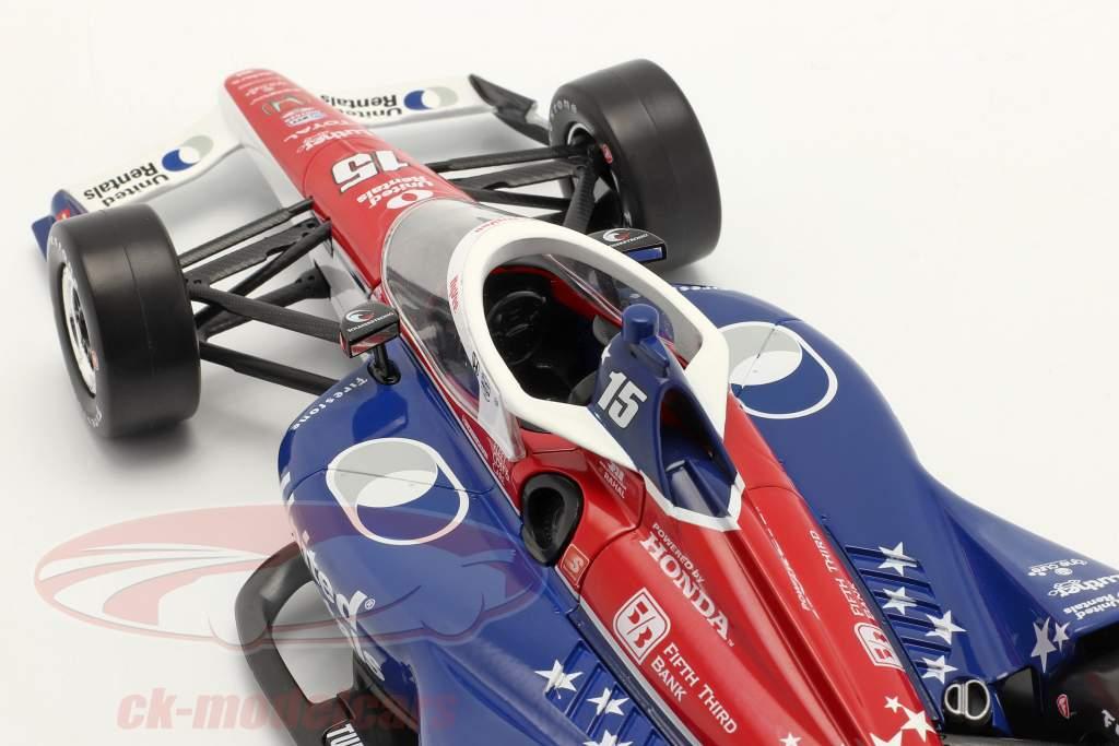 Graham Rahal Honda #15 IndyCar Series 2021 1:18 Greenlight