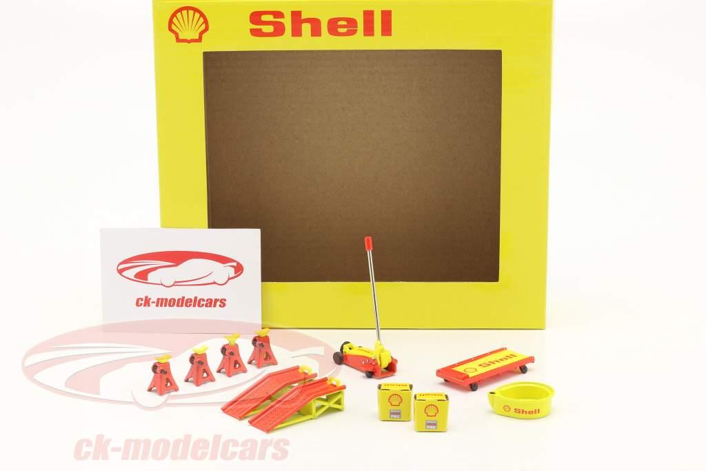 Shop Tool Set #2 Shell Oil 1:18 GMP