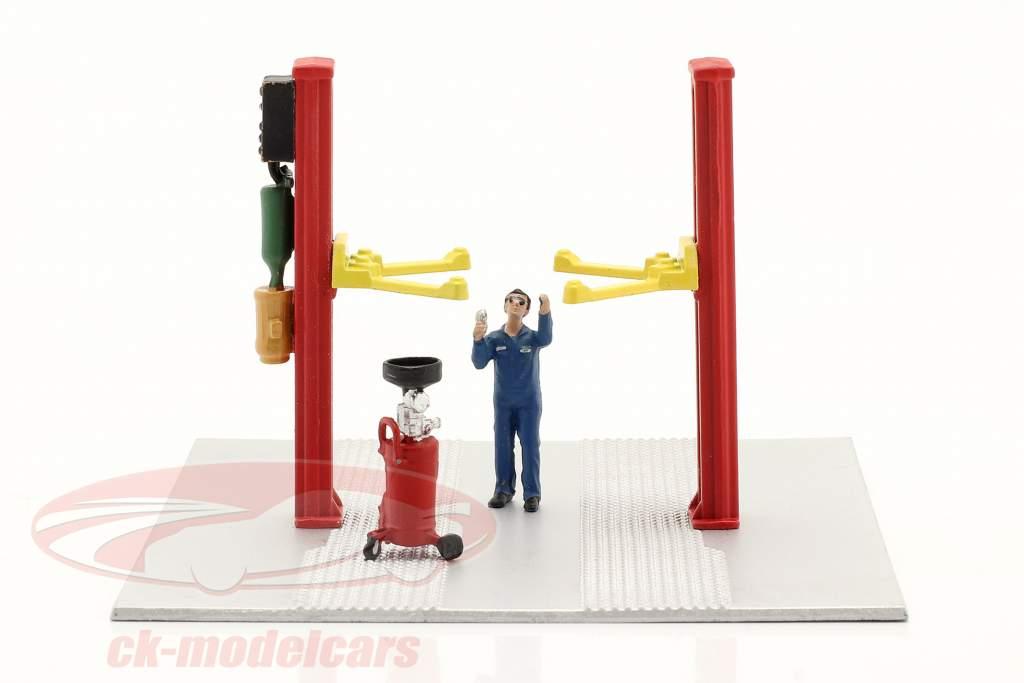 to indlæg løfte op olie dræne Rød 1:64 American Diorama