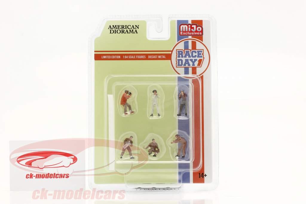 Race Day Figuren-Set 1:64 American Diorama