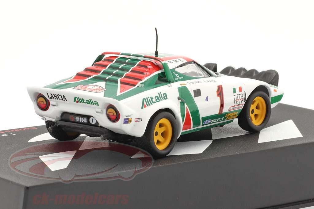 Lancia Stratos HF #1 Sieger Rallye Monte Carlo 1977 Munari, Maiga 1:43 Altaya