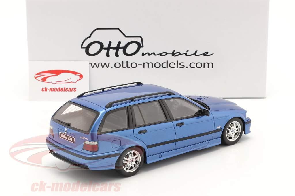 BMW 3er Serie 328i (E36) Touring M Pack 1997 blau metallic 1:18 OttOmobile