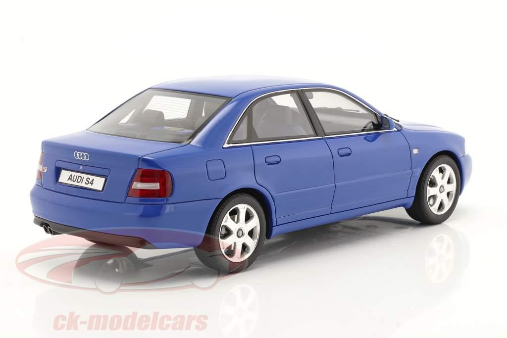 Audi S4 (B5) 2.7L Biturbo Année de construction 1998 nogaro bleu 1:18 OttOmobile