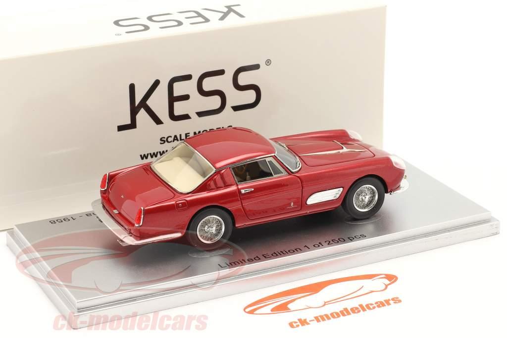 Ferrari 410 Superamerica Series III Pininfarina Coupe 1958 rouge 1:43 KESS