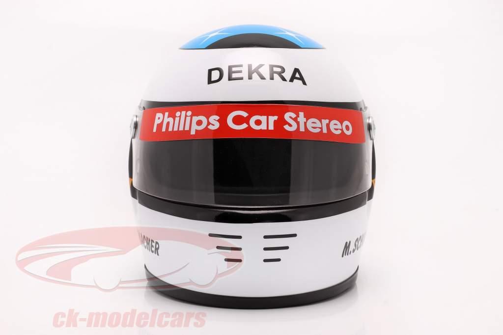 Michael Schumacher 初め 方式 1 GP Spa 1991 ヘルメット 1:2 Schuberth