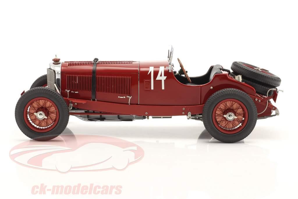 Mercedes-Benz SSK #14 ganador Argentino Otoño Raza 1931 C. Zatuszek 1:18 CMC