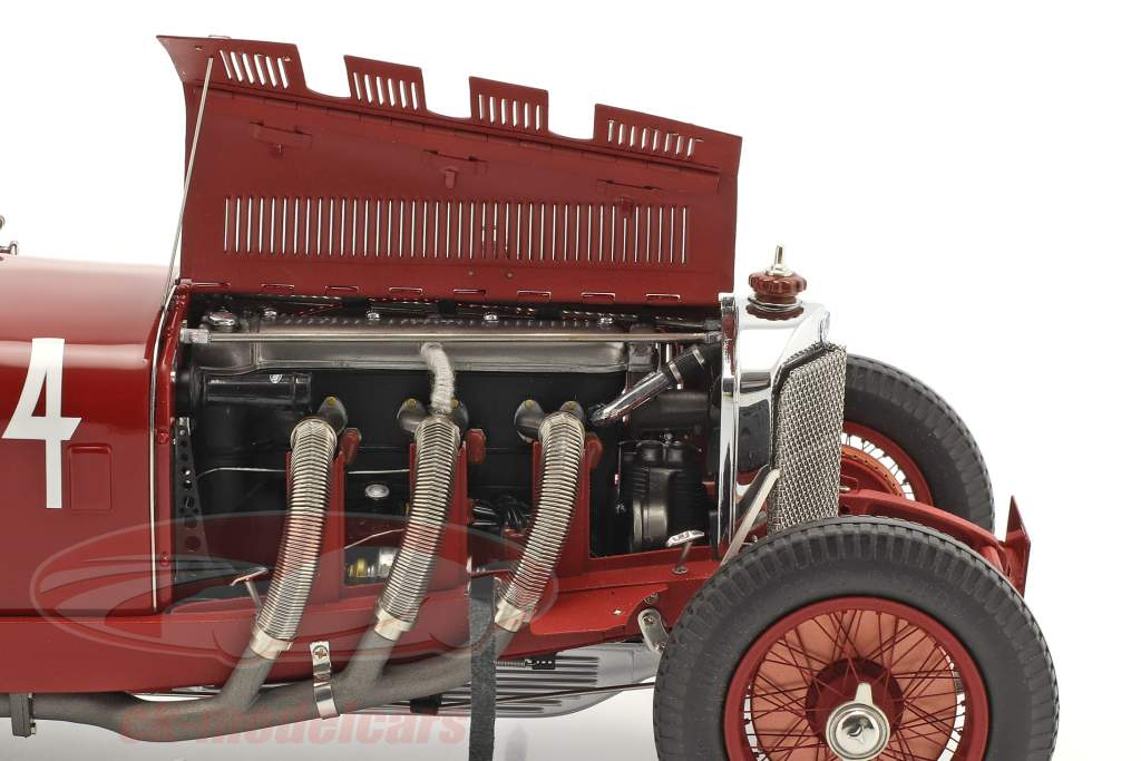 Mercedes-Benz SSK #14 Winner Argentinian Autumn Race 1931 C. Zatuszek 1:18 CMC
