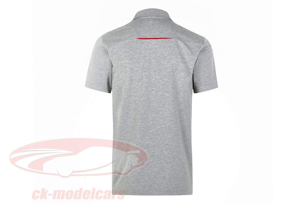 Men's Polo shirt Porsche Motorsport 2021 logo grau