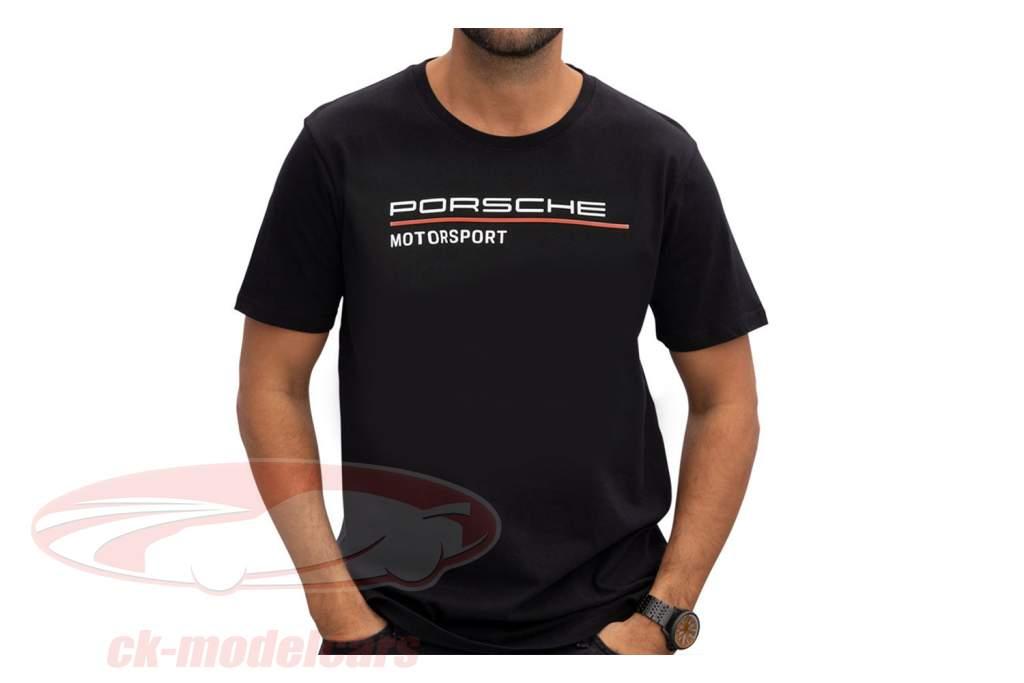 Mænd T-shirt Porsche Motorsport 2021 logo sort