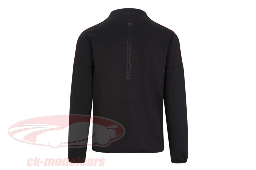 Pour des hommes Veste softshell Porsche Motorsport 2021 logo le noir / rouge