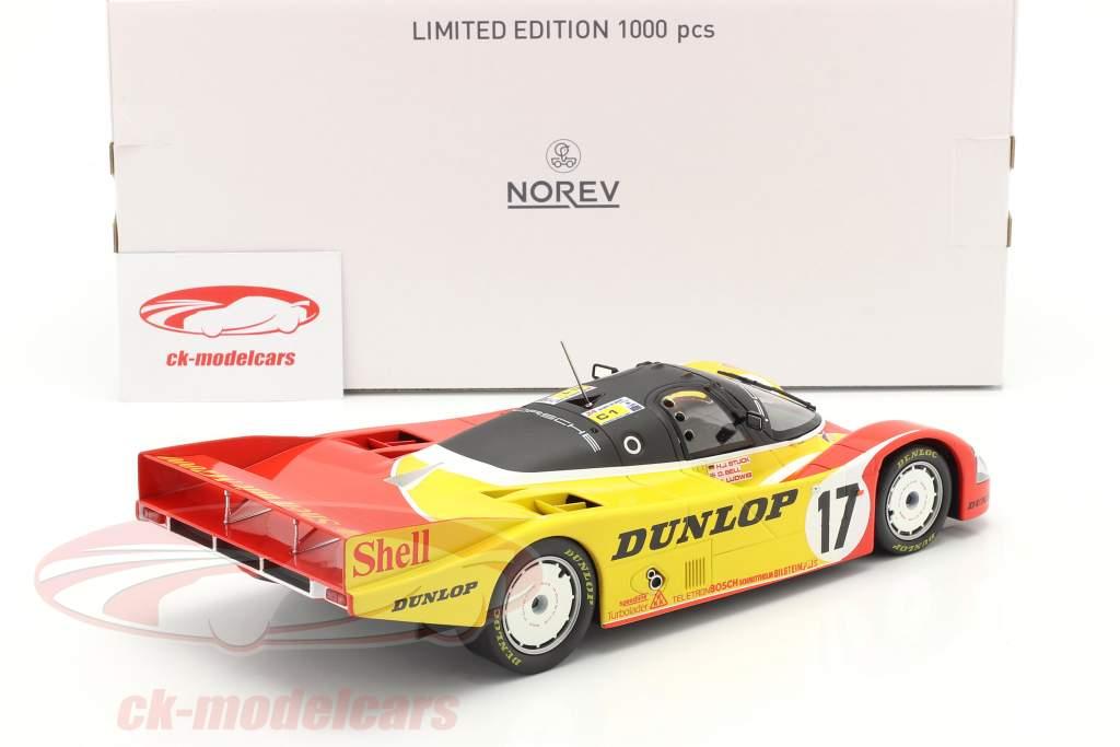 Porsche 962C #17 2do 24h LeMans 1988 Porsche AG 1:18 Norev