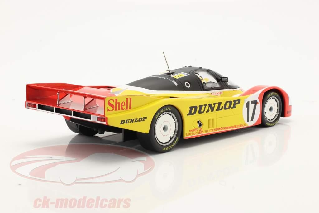 Porsche 962C #17 2nd 24h LeMans 1988 Porsche AG 1:18 Norev