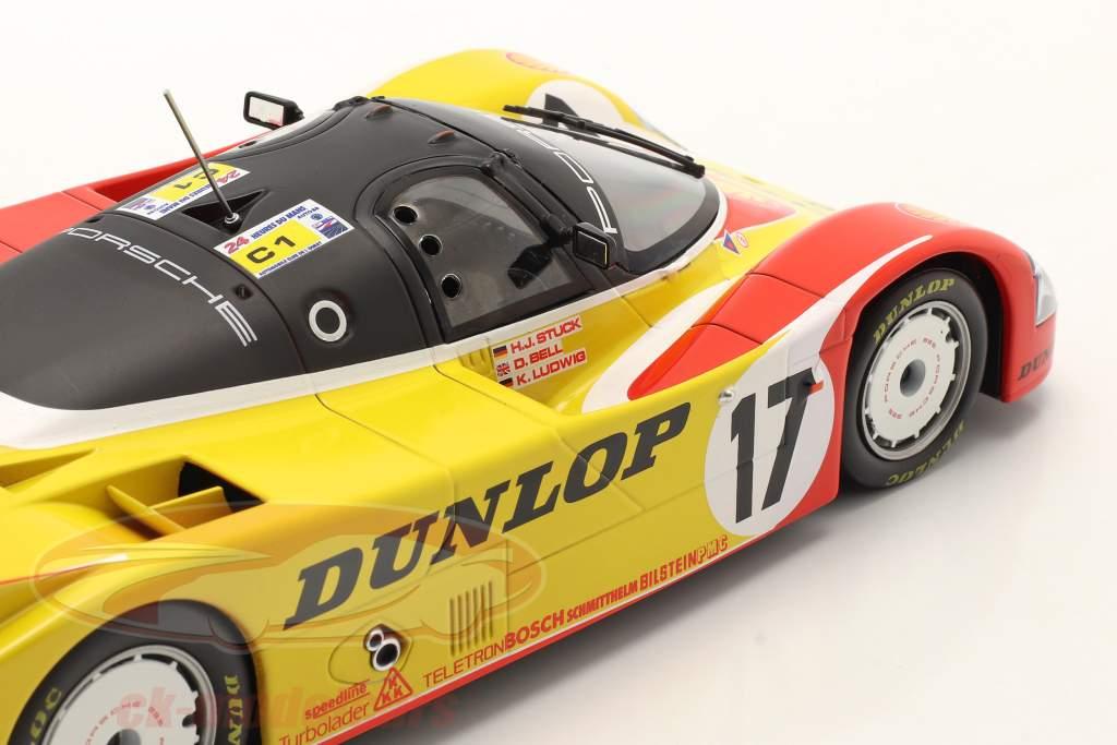 Porsche 962C #17 2ª 24h LeMans 1988 Porsche AG 1:18 Norev