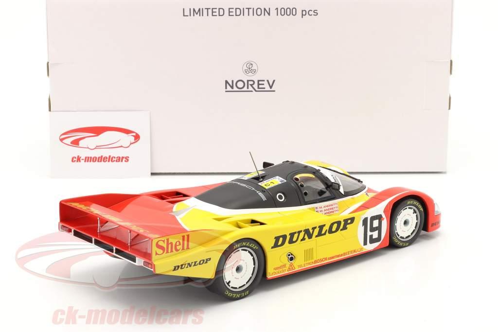 Porsche 962C #19 6th 24h LeMans 1988 Porsche AG 1:18 Norev