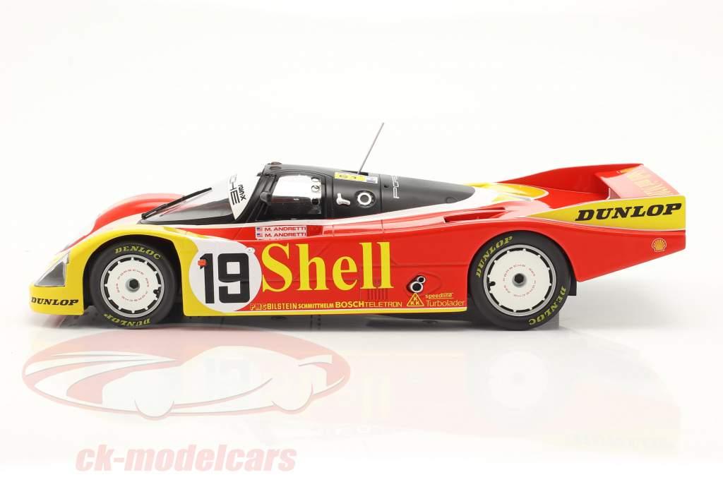 Porsche 962C #19 6. 24h LeMans 1988 Porsche AG 1:18 Norev