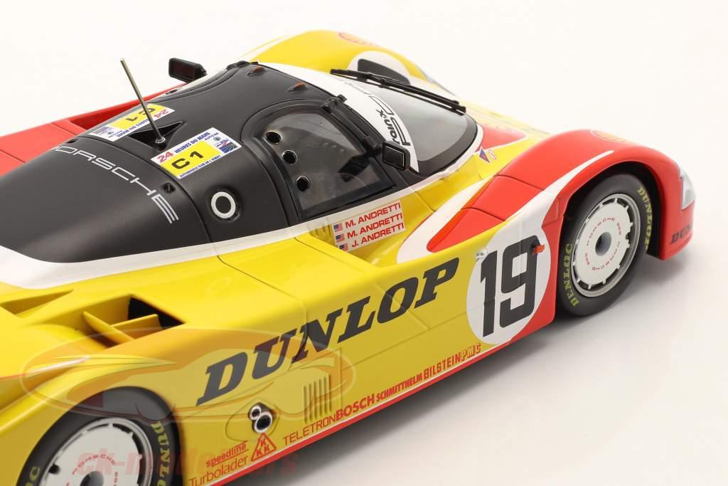 Porsche 962C #19 6e 24h LeMans 1988 Porsche AG 1:18 Norev