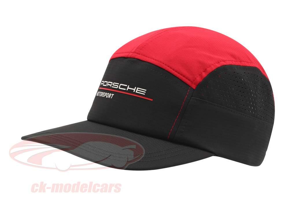 Porsche Deportes de motor Gorra negro / rojo