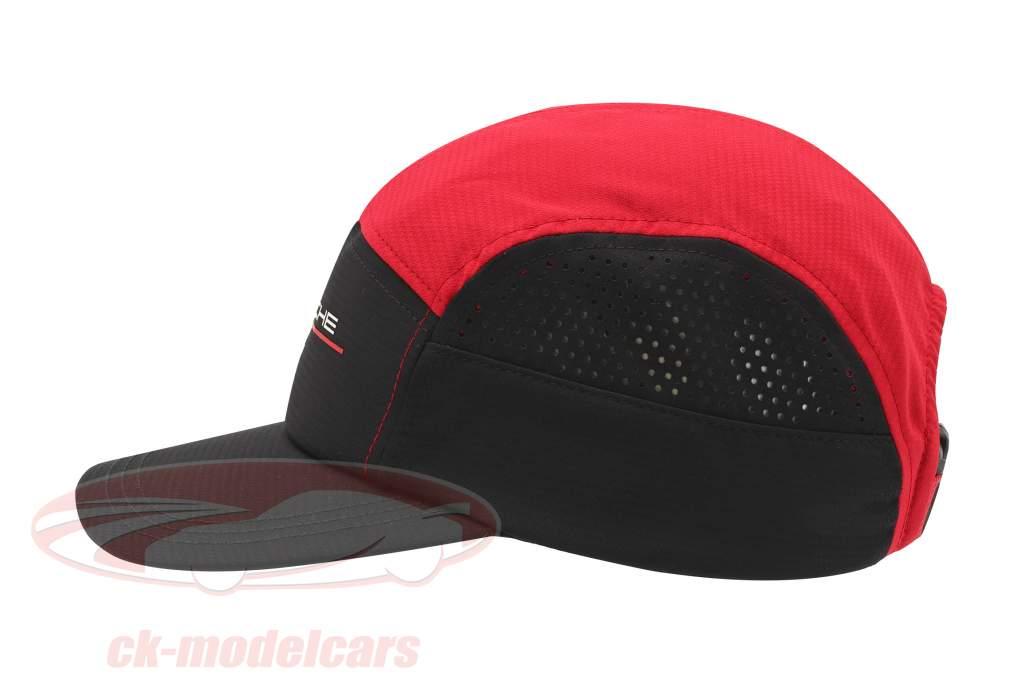 Porsche Sport automobile Casquette noir / rouge